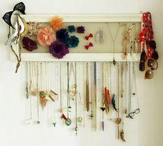 Inspiration DIY – porte-bijoux pratique et déco
