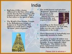 historical facts about india - Google Search