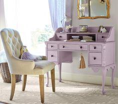 Outrageous Vintage Bedroom Furniture Tips 8 - homemisuwur Purple Furniture, Vintage Bedroom Furniture, Retro Furniture, Bedroom Vintage, Vintage Shabby Chic, Furniture Decor, Design Your Own Room, Antique Secretary Desks, Magical Room