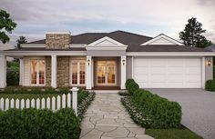 new hamptons style homes exterior - Google Search