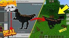 Skins 4D Para Minecraft Pe 1.6 || Skin 4D Del Indoraptor - SkinPack 4D De Dinosaurios Minecraft Pe, Minecraft Server, Mojang Minecraft, Minecraft Skins, Jurassic Craft, Prehistoric Creatures, View Video, Mini Games, Jurassic World