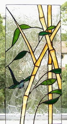 Paint on window faux stained glass Stained Glass Flowers, Stained Glass Mosaic, Glass Painting, Glass Design, Glass Art