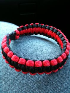Paracord Bracelets that I make - Click the pic for ordering info