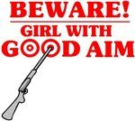 Girl With Good Aim