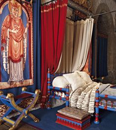 The Great Tower at Dover Castle has been refurbished to look as it would have done in the time of Henry II and Eleanor of Aquitaine. (Great Queens 2015)