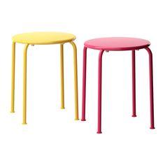 ROXÖ Hocker IKEA Sommermöbel aus wartungs- und unterhaltsfreiem Material. Lässt sich leicht sauber halten; einfach mit einem feuchten Tuch abwischen.
