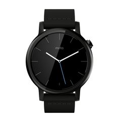 Motorola Moto 360 2nd Gen. Mens 42mm Smartwatch, Black with Black Leather. All healthy relationships need space. Including the one with your phone. That's why there's the new Moto 360. It streamlines your mobile life by delivering the information that matters to you, giving you more time to do the things you love. With designs made specifically for men or women, it's easy to find the color, size, and style that fits you best. Because you deserve choice when it comes to what you wear on…