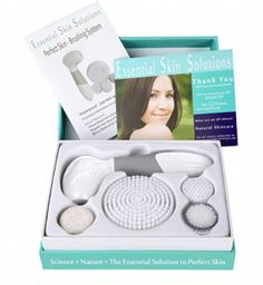 Find best price for BEST Skin Cleansing FACE and BODY BRUSH Microdermabrasion Exfoliator System - Pore Minimizer - Acne Spots and Acne Scar Treatment - Body Acne Remover - Dark Spot Corrector - Perfect Skin Brushing System for Women and Men by ESS Best Facial Cleansing Brush, Cleansing Brushes, Pore Cleansing, Best Acne Treatment, Scar Treatment, Acne Treatments, Acne Dark Spots, Skin Brushing, Makeup Tips