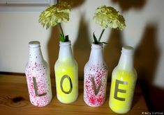Upcycle Glass Bottles