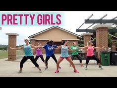 Iggy Azalea & Britney Spears - Pretty Girls (Dance Fitness with Jessica) - YouTube