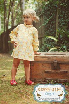 Brownie-Goose, Hattie Dress