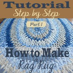 Making a Rag Rug — Day to Day Adventures Making rugs has been a fascination to me for several years. Walk through making a rag rug in the Rag Rug Diy, Diy Rugs, Toothbrush Rug, Rag Rug Tutorial, Braided Rug Tutorial, Tutorial Crochet, Homemade Rugs, Crochet Rug Patterns, Crochet Rugs