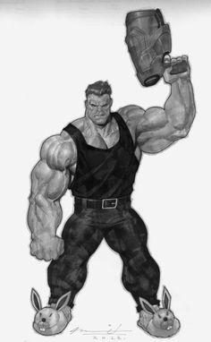 The Hulk by Ariel Olivetti