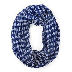 Malabar Bay Annapolis Navy Infinity Scarf for that perfect pretty look.