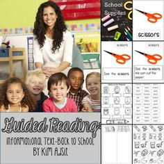 Guided Reading - Informational Text - Back to School by Kim Adsit