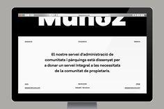 Muñoz on Behance