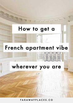 Paris Apartment Interiors, French Apartment, Scandinavian Apartment, Parisian Bedroom, Parisian Decor, Parisian Style, French Interior, French Decor, Interior Design