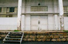 old industrial warehouse door - Google Search Industrial Door, Warehouse, Garage Doors, Google Search, Outdoor Decor, Magazine, Barn, Carriage Doors, Storage