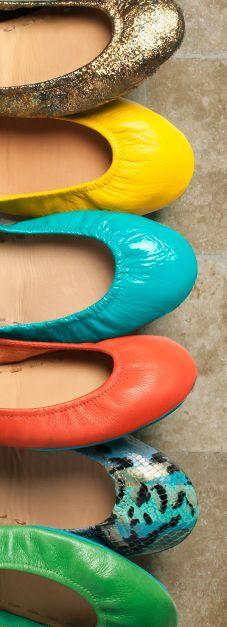 Mixing Colors and Prints <3  #Tieks Ballet Flats