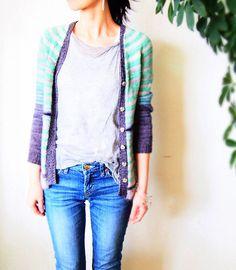 MarlOn pattern by La Maison Rililie: FO by eritml on ravelry #knitting #pattern #knitindie
