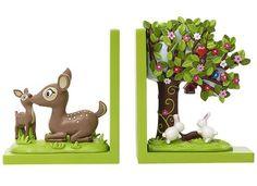 Bobble Art 3D Woodland Book Ends