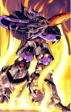 Galvatron, he was pretty annoying in the original tv show, but i have to admit his design is amazing