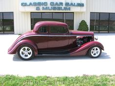 1934 Chevrolet 5 Window Coupe. Dad had this one too - dark green with a rumble seat in the back.