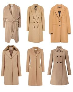 6 camel coats to wear this autumn and winter