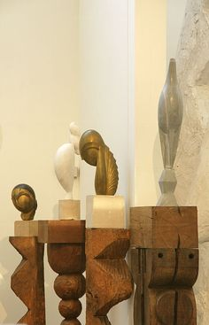 """They are imbeciles who call my work abstract. That which they call abstract is the most realistic, because what is real is not the exterior, but the idea, the essence of things."" - Constantin Brancusi"