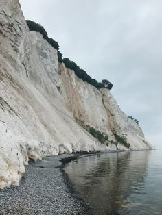 Mons Klint, Denmark //  Forget the white cliffs of Dover, or Normandy – Denmark's lesser known giant chalk cliffs must be seen!