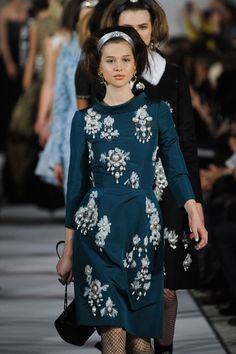 Oscar de la Renta, Fall 2012 - The Most Memorable Oscar de la Renta Runway Dresses - Photos