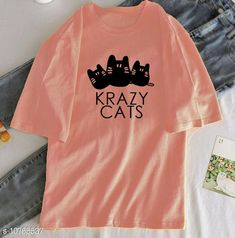 Tshirts Krazy Kats Tee Fabric: Polycotton Sleeve Length: Short Sleeves Pattern: Printed Multipack: 1 Sizes: S (Bust Size: 34 in Length Size: 23 in)  XL (Bust Size: 40 in Length Size: 26 in)  XS (Bust Size: 32 in Length Size: 22 in)  L (Bust Size: 38 in Length Size: 25 in)  M (Bust Size: 36 in Length Size: 24 in)  XXL (Bust Size: 42 in Length Size: 27 in) Country of Origin: India Sizes Available: XS, S, M, L, XL, XXL *Proof of Safe Delivery! Click to know on Safety Standards of Delivery Partners- https://ltl.sh/y_nZrAV3  Catalog Rating: ★4 (494)  Catalog Name: Urbane Elegant Women Tshirts CatalogID_1981052 C79-SC1021 Code: 972-10765537-