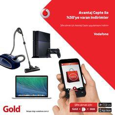 Gold'dan Vodafone'lulara özel %50'ye varan indirim fırsatı! www.gold.com.tr'de ve Gold Teknoloji Marketleri'nde geçerli olan yeni yıl fırsatını kaçırmayın.  http://www.gold.com.tr/avantaj-cepte-ile-yuzde-50-ye-varan-indirimler_lp155664885   #technology #teknoloji #goldcomtr