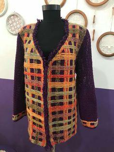 Hand Knitting Women's Sweaters Knitted women's vest, cardigan, sweater financing Crochet Jacket, Knit Vest, Crochet Cardigan, Pull Crochet, Crochet Girls, Baby Cardigan, Vest Pattern, Pattern Sewing, How To Start Knitting