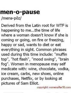 Now this is funny! True& still funny! The post Das ist lustig ! & Wechseljahre appeared first on Menopause . Menopause Humor, Menopause Relief, Menopause Symptoms, Early Menopause, Cortisol, Common Phrases, Just For Laughs, Getting Old, Laugh Out Loud