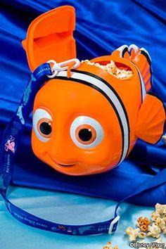 Nemo & Friends SeaRider Merchandise & Popcorn Bucket at Tokyo DisneySea