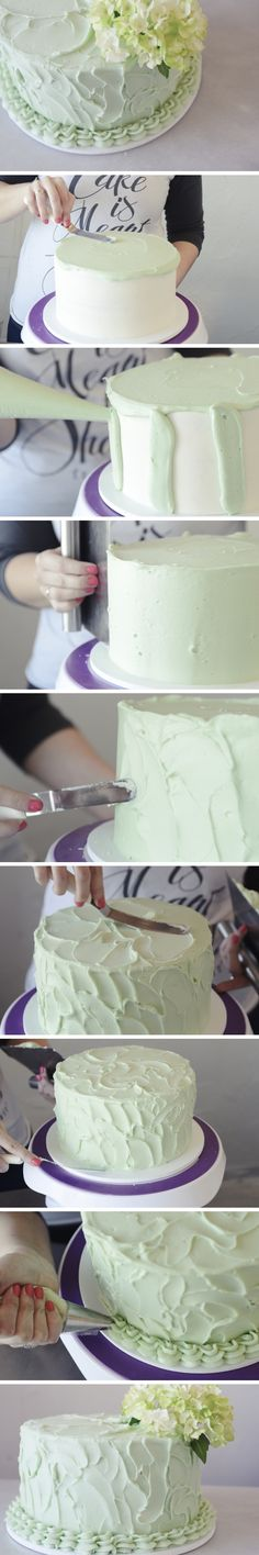 How to Frost a Home-Style Rustic Cake | Relish.com
