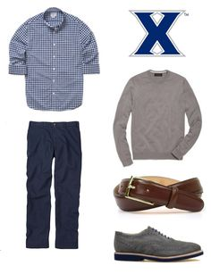 Men: How to Dress for the Xavier Musketeers vs. Dayton Flyers Basketball Game Bonobos Brooks Brothers Bill's Khakis Martin Dingman Walkover Shoes