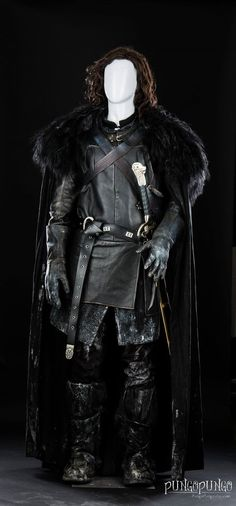 Halloween Costume Jon Snow Cloak of Winterfell Game by PungoPungo