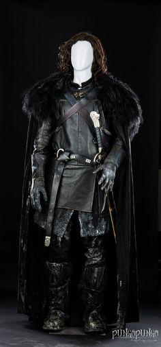 Halloween Costume Jon Snow Cloak of Winterfell Game by PungoPungo