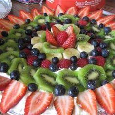 Fruit Pizza II Allrecipes.com
