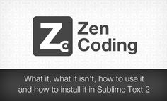 Не понимаете работу препроцессоров? Попробуйте Zen Coding