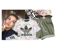 """""""YOUTH XX TROYE SIVAN"""" by yazbo ❤ liked on Polyvore featuring Casetify, Ray-Ban, adidas Originals and adidas"""