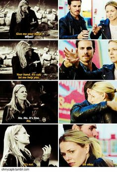 Parallels, always protecting her...