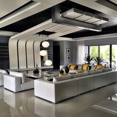 Beautiful Modern Ceiling Design You Are Looking For - Cornelius Adeniyi House Ceiling Design, Ceiling Design Living Room, Bedroom False Ceiling Design, Bedroom Bed Design, Living Room Designs, Home Interior Design, Interior Decorating, Interior Photo, Room Interior