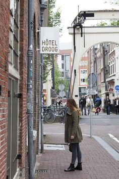 Hotel Droog @ shopping route in Amsterdam!