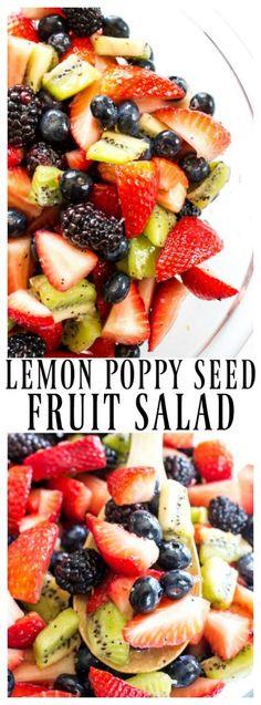 LEMON POPPY SEED FRUIT SALAD
