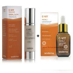 C-Vit Radiance Fluido Luminoso + C-Vit Liposomal Serum