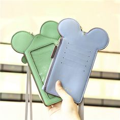 Women Touch Screen Cute Animal Shape Card Holder Phone Bag Wallet Purse Neck Bag sales at a good price. Come to Newchic to buy a wallet, more cheap women wallets are provided online Mobile. Phone Wallet, Card Wallet, Mobiles, Cartoon Bag, Coin Bag, Wallets For Women, Leather Handbags, Women's Handbags, Pu Leather