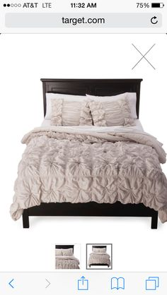 Lush Decor Belle Bedding Lush Decor© Belle Ruffle 4 Piece Comforter Set  Ivory  For My
